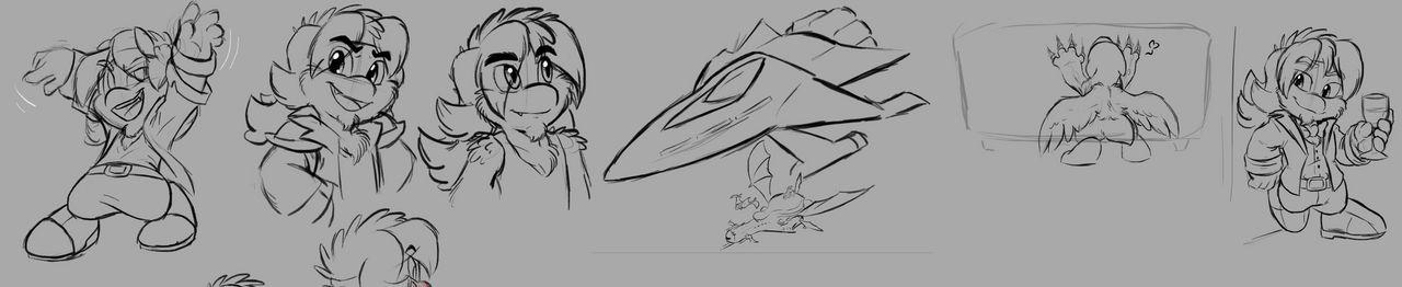 Zeelo and uhhh a ship and a dragon
