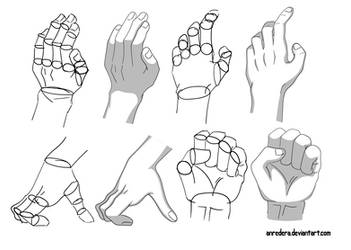 Hand Tutorial 2 - Different Poses