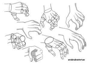 Hand Tutorial 7 - Different Poses