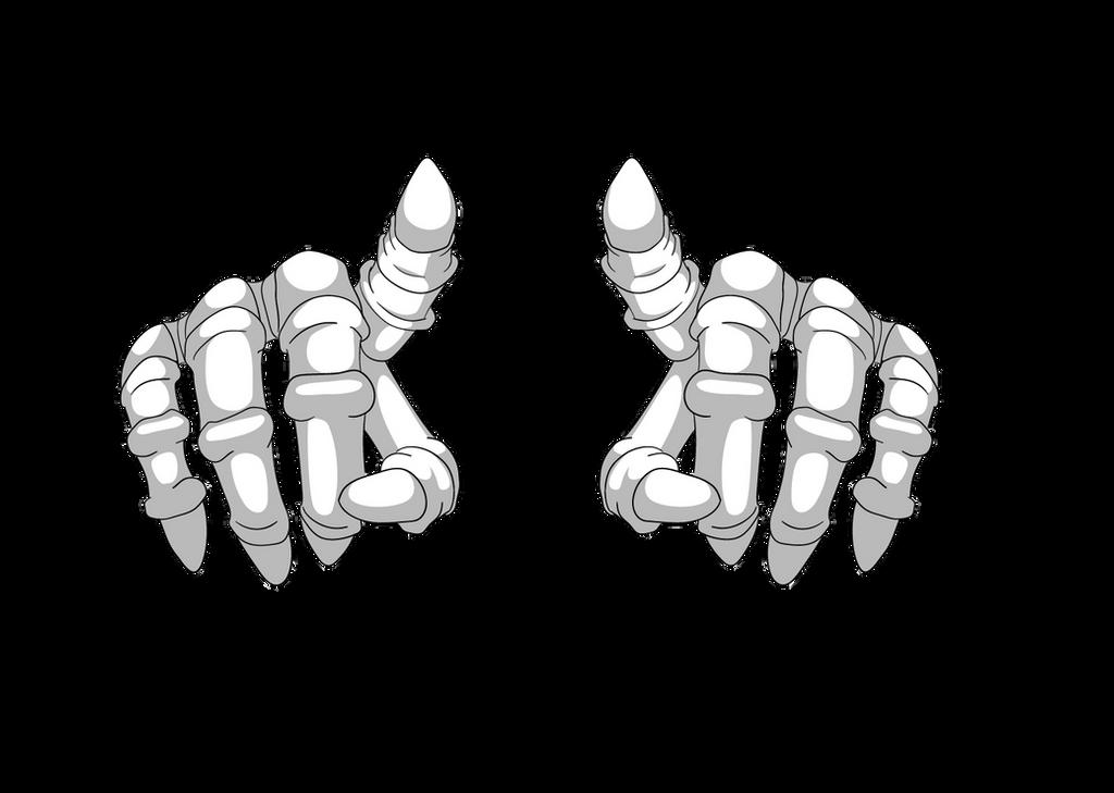 Skeleton hand by anredera on DeviantArt
