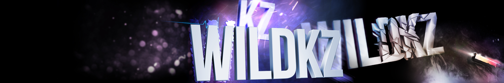 Wildkz's Youtube Banner by sdc321