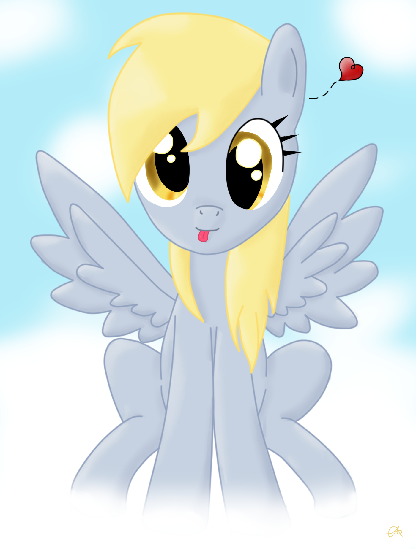 Derpy Hooves by TheCrimsonCanvas