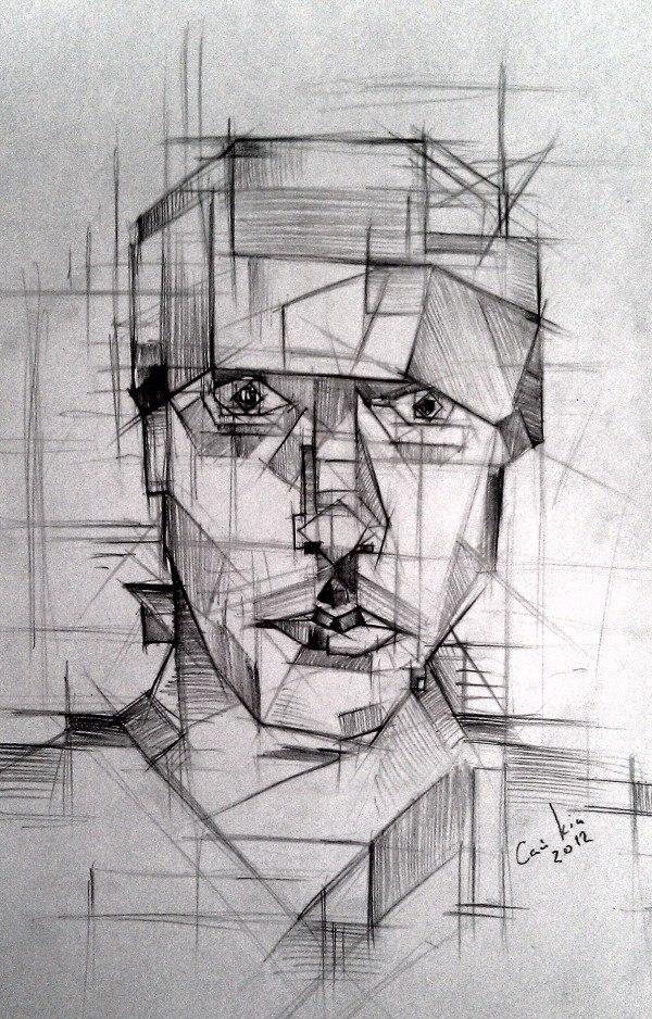 cubic guy by sai-kin
