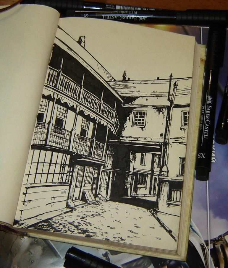 Random street by sai-kin