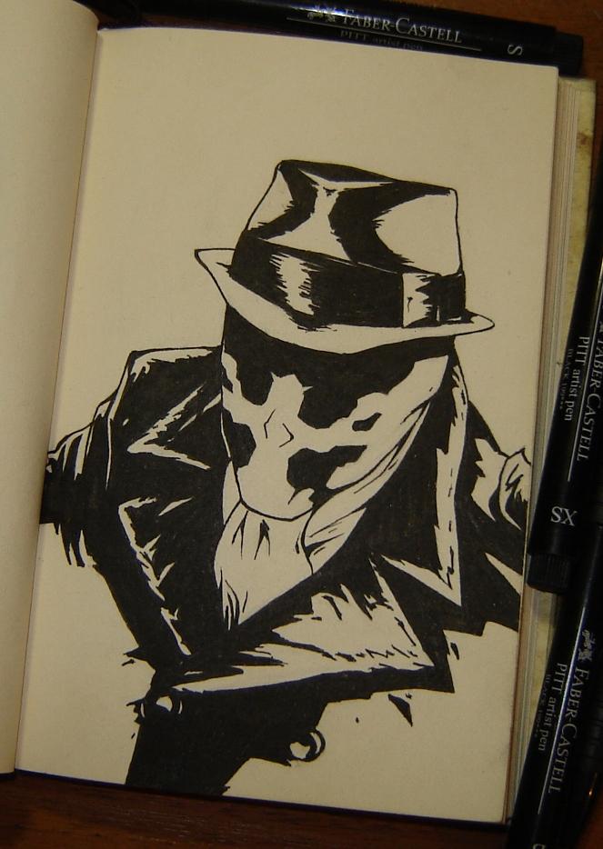Rorschach (Watchmen) by sai-kin