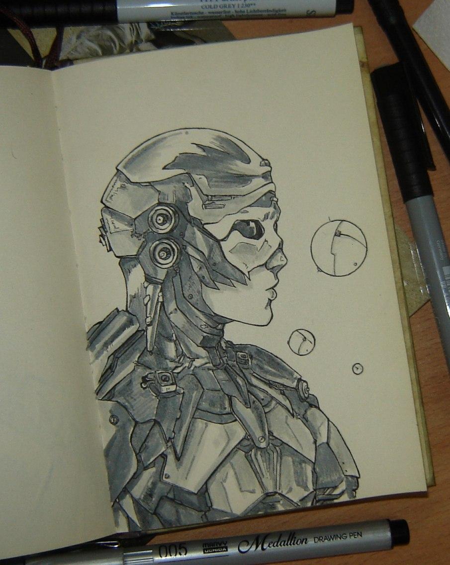 combat suit by sai-kin