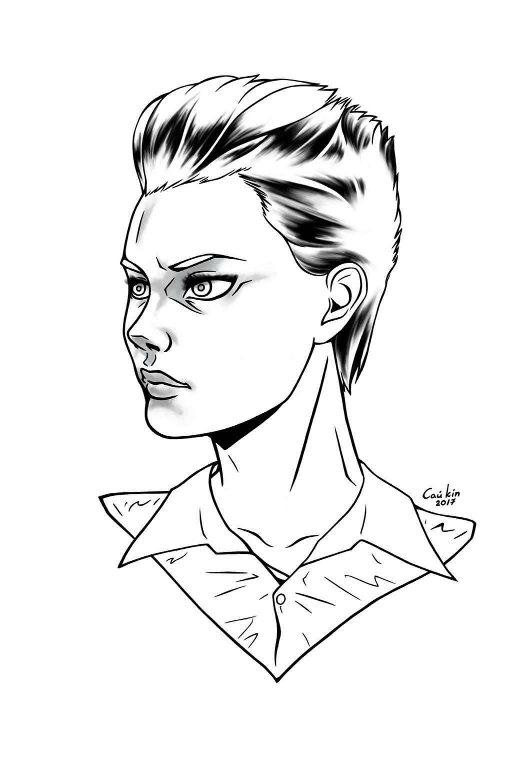 Digital sketch by sai-kin