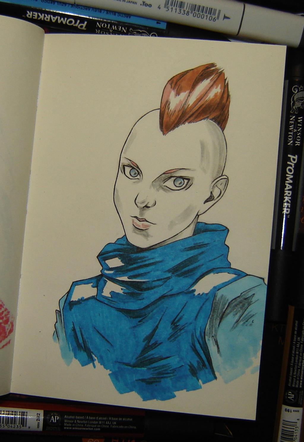 punkgirl by sai-kin