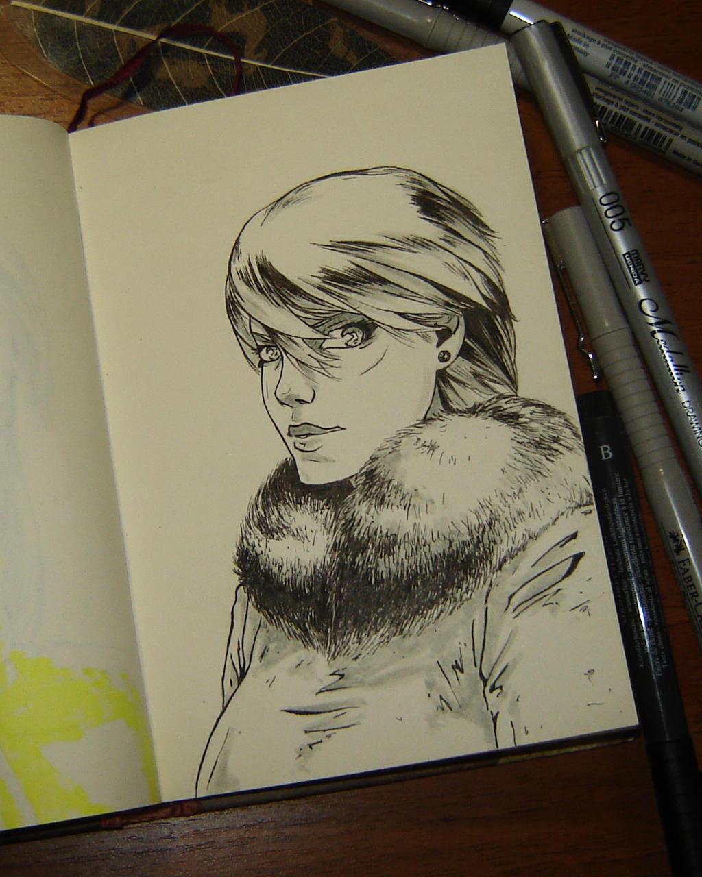 Winter girl 06 by sai-kin