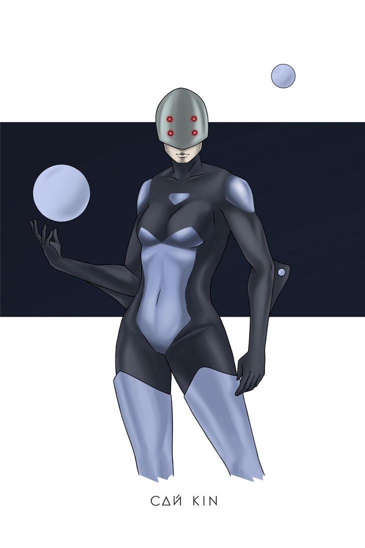space wanderer (summer version) by sai-kin