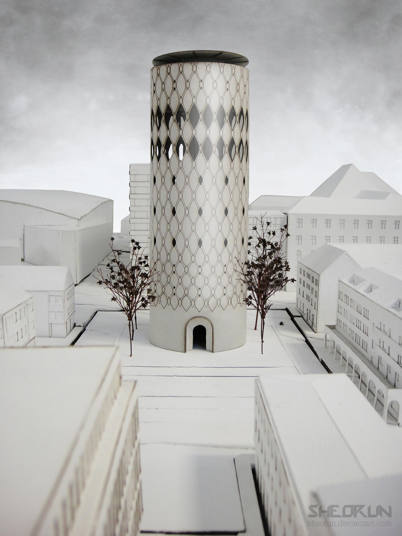dOCUMENTA tower by sheorun