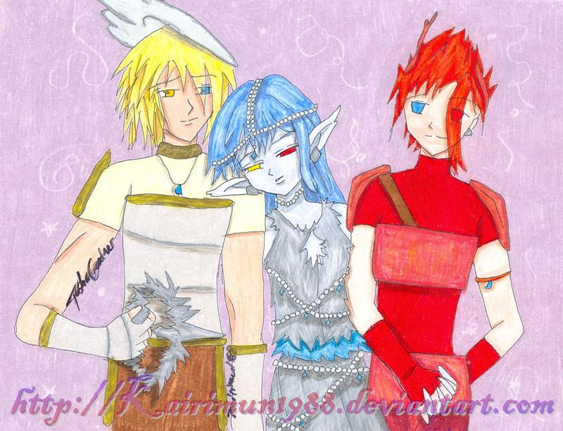 The Three by Kairimun1988
