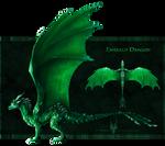 [CLOSED] $.Emerald.$ - Gem Dragon for Sale!