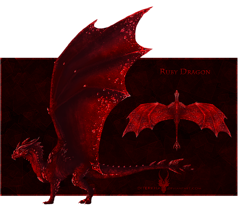 CLOSED Ruby Gem Dragon For Sale By Diterkha On