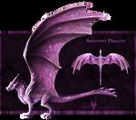 [CLOSED] $.Amethyst.$ - Gem Dragon for Sale!