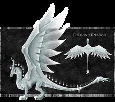 [CLOSED] $.Diamond.$ - Gem Dragon for Sale! by Diterkha