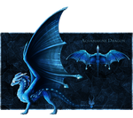 [CLOSED] $.Aquamarine.$ - Gem Dragon for Sale!