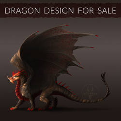 [OPEN] Dragon design for sale! #1 by Diterkha