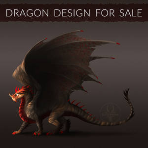 [CLOSED] Dragon design for sale! #1