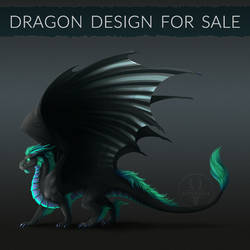 [CLOSED] Dragon design for sale! #2 by Diterkha