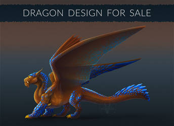 [OPEN] Dragon design for sale! #4 by Diterkha