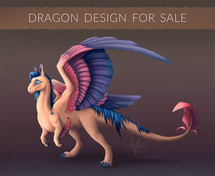 [OPEN] Dragon design for sale! #5 by Diterkha