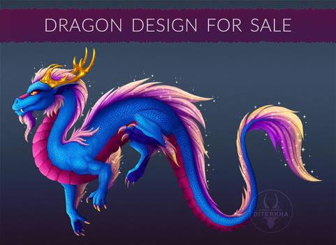 [OPEN] Dragon design for sale! #6