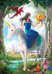 Fantasy Lady by FrostieGreen