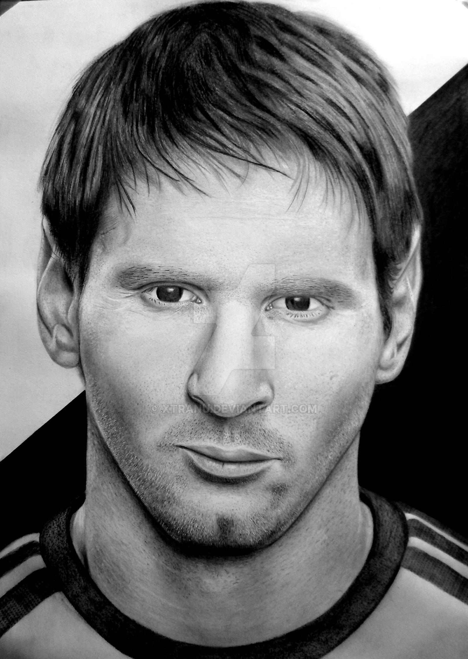 Messi by Xtranu on DeviantArt