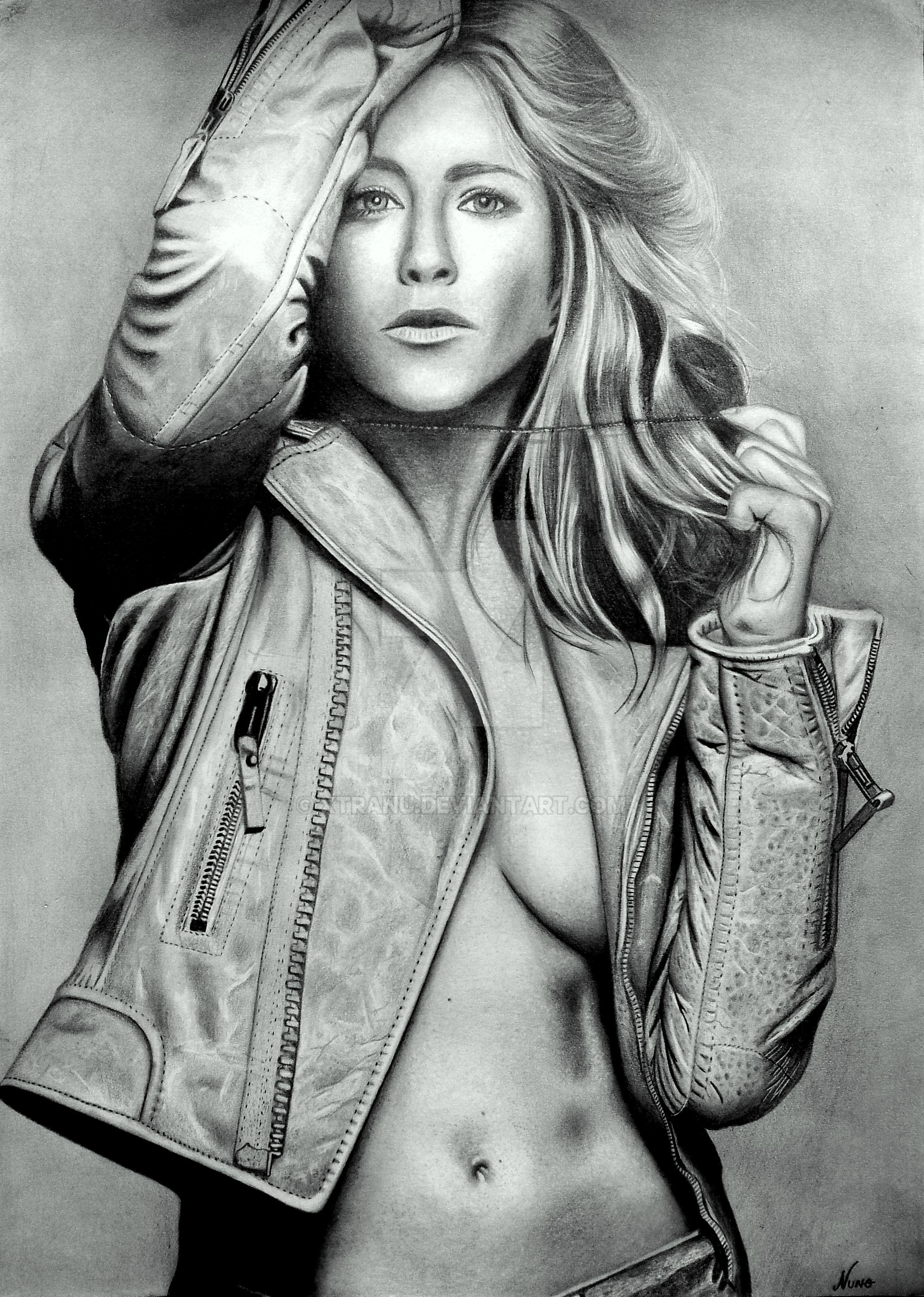 Jennifer Aniston by Xtranu