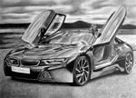 BMW i8 by Xtranu