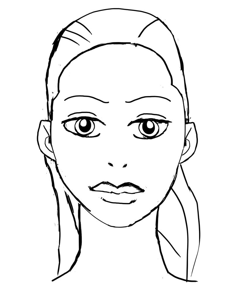 states coloring pages with faces - photo#32