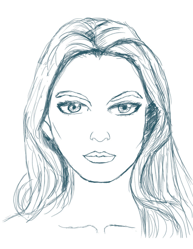 Face Sketch 17 by eastphoto99 on DeviantArt
