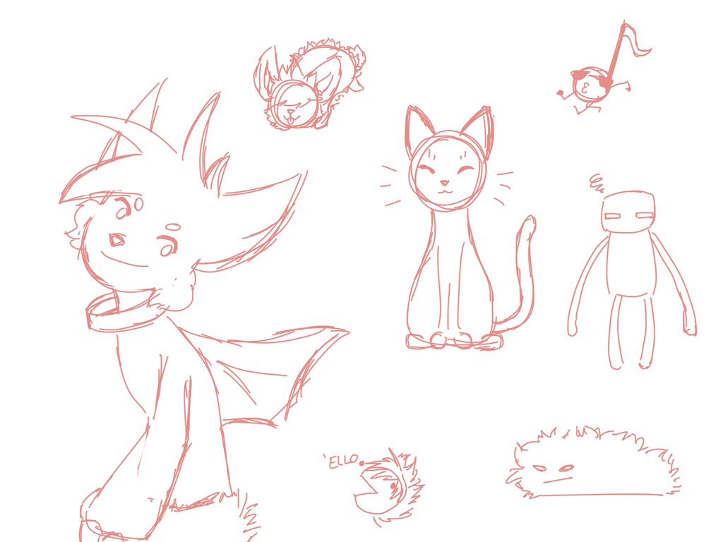 Stream doodles by Heise-kun