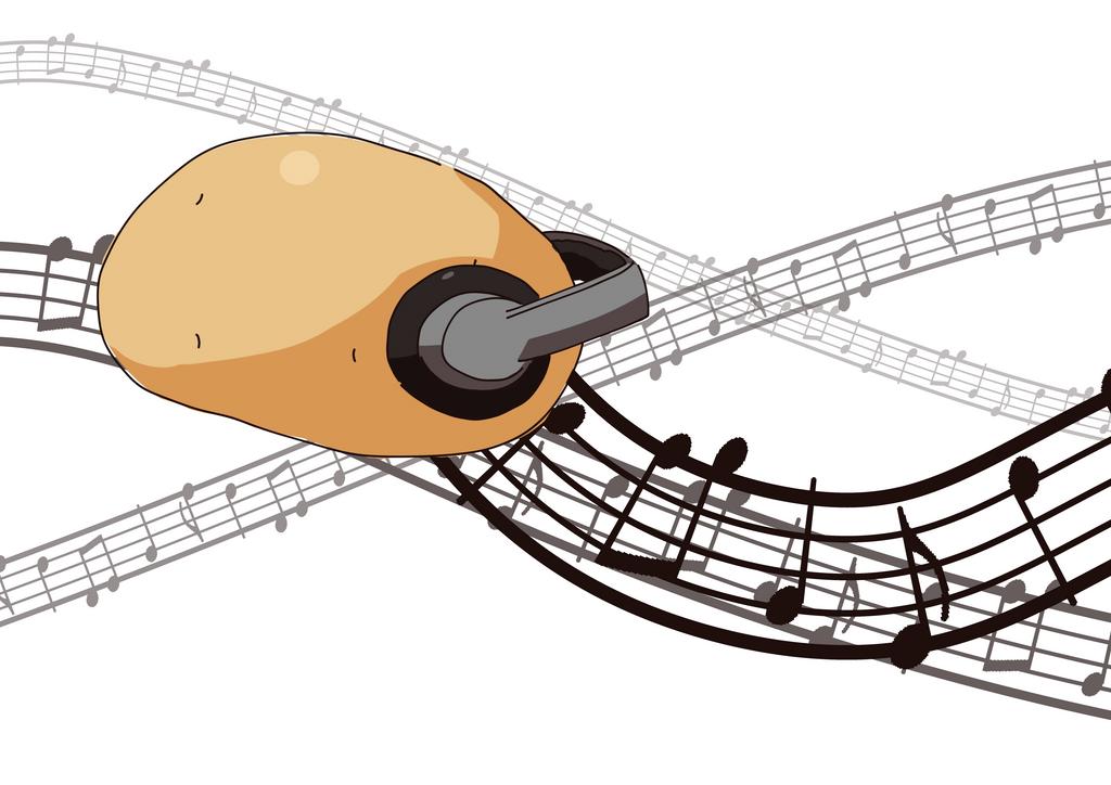 Sound potato by Heise-kun