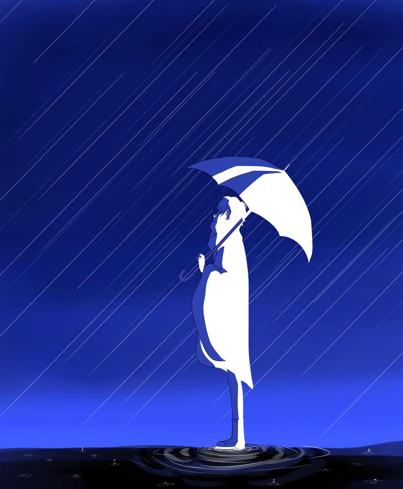 World End Umbrella by Heise-kun