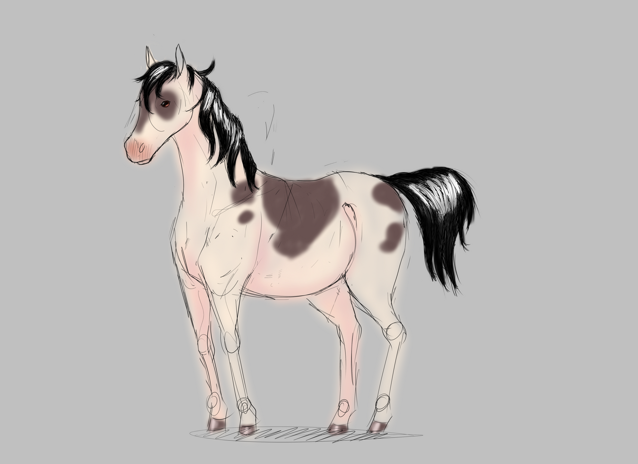 Quick horse by Heise-kun