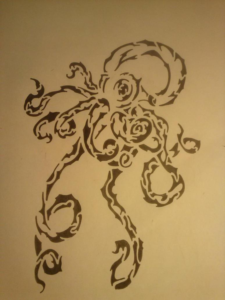 Octopus Tattoo Maori Pictures to Pin on Pinterest - TattoosKid