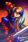 :slice n dice with Rose Wilson: by PoisonRemedy