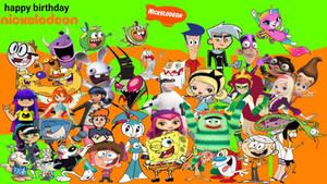happy birthday Nickelodeon!!!!
