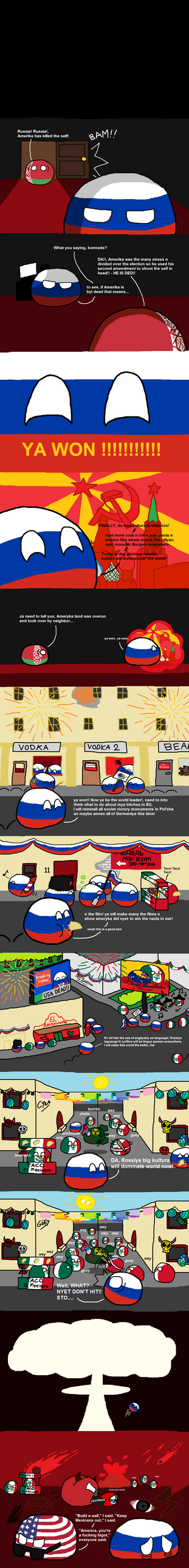 russia day(last mistake commie) by Jawcravescookie