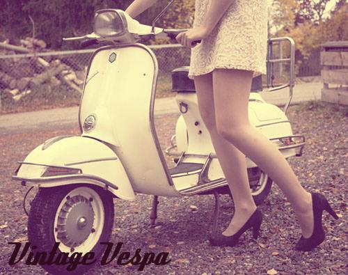 Vintage Vespa By Sevily On Deviantart