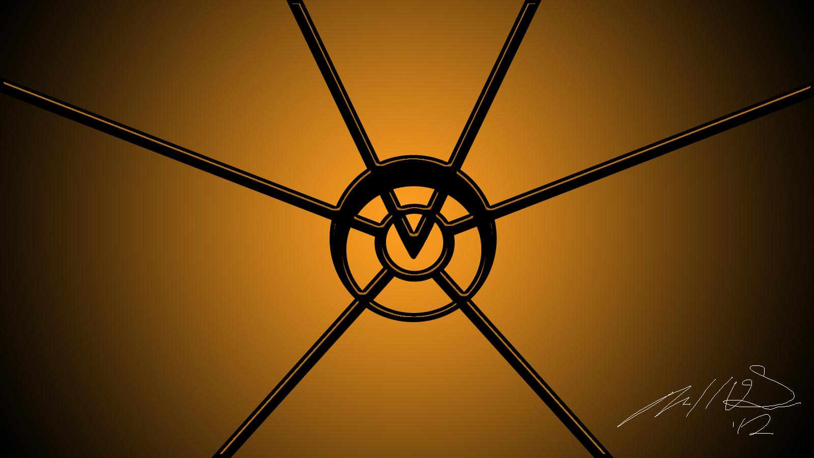 Agent Orange (Orange Lantern Corps) Emblem Design by ...Orange Lantern Corps Logo