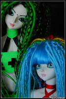Skittles and Yelena 003 by VelvetBat