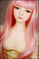 Angelina with a pink wig 002