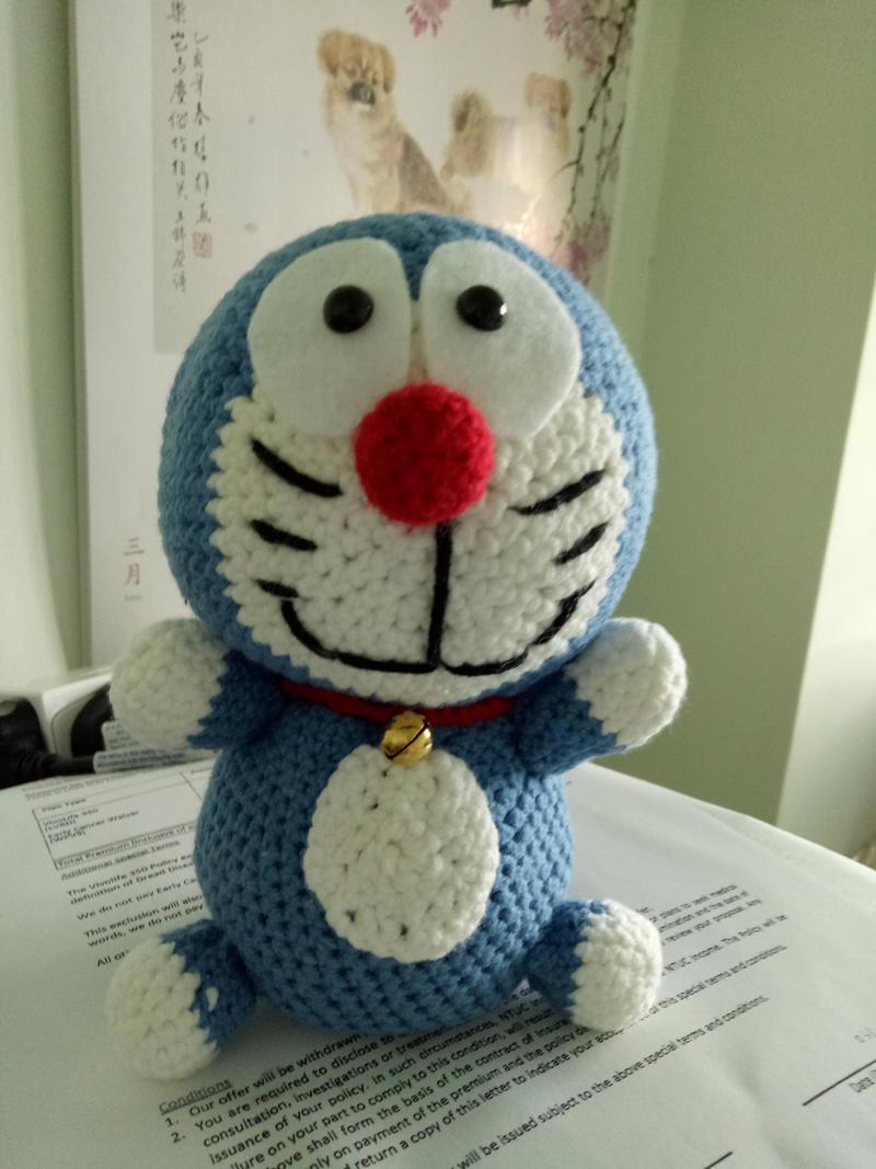 Ding Dong / Doraemon Amigurumi | Crafting Creatures | 1067x800