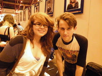 Me and Harry Melling by jesscoleman94