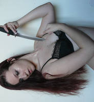 Knife 15 by smaragdistock