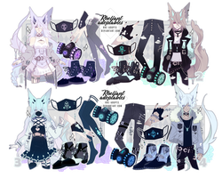 [closed]|Adoptables Setprice|Hooded Demon IV by Rhe-Adopts