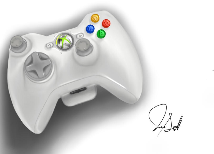 Xbox controller by Invited